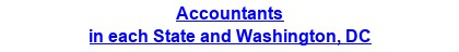 Accountants in each State and Washington, DC